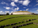 Newgrange Prehistoric Monument in County Meath, Ireland Photographic Print by Chris Hill