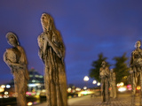 Dublin's Famine Memorial Memorializes the Irish Potato Famine of the 1840's Photographic Print by Jim Richardson