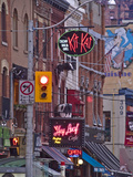 King Street at Twilight Photographic Print by Richard Hewitt Nowitz