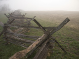 Morning Fog over This Civil War Battlefield Photographic Print by Stephen St. John