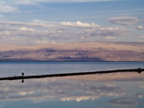 The Dead Sea at Sunset with a View Toward Jordan Photographic Print by Richard Hewitt Nowitz