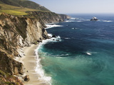 Scenic Elevated View of the Big Sur Coast Photographic Print by Marc Moritsch
