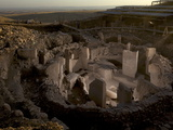 Gobekli Tepe, a Religious Sanctuary Built by Hunter-Gatherers Photographic Print by Vincent J. Musi