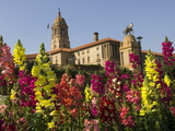 Flower Gardens in Front of the Union Buildings, Parliament Photographic Print by Paul Sutherland