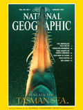 Cover of the January, 1997 Issue of National Geographic Magazine Photographic Print by David Doubilet