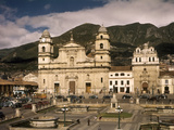 Bogota's Archbishopric Cathedral, Sacred Chapel and Palace Photographic Print by Luis Marden