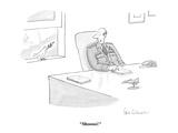 """Shoooo!"" - Cartoon Premium Giclee Print by Leo Cullum"