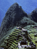 The Inca Ruins of Machu Picchu Photographic Print by Bates Littlehales