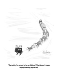 """""""Certainly I'm proud to be an Eskimo!  That doesn't mean I enjoy freezing …"""" - New Yorker Cartoon Premium Giclee Print by J.B. Handelsman"""