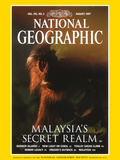 Cover of the August, 1997 Issue of National Geographic Magazine Fotografisk tryk af Mattias Klum