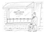 The Off-Line Bar & Grill - Cartoon Premium Giclee Print by Mick Stevens