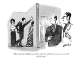 """That's good old Ralph for you.  Even when he's with the girl he loves, he…"" - New Yorker Cartoon Premium Giclee Print by Warren Miller"