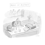 Moses of Midtown - Cartoon Premium Giclee Print by Roz Chast