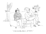 """I said you smell musk-y, not musty."" - Cartoon Premium Giclee Print by Mary Lawton"