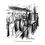 """Does 'ex' take the ablative or the dative?"" - New Yorker Cartoon Premium Giclee Print by Alan Dunn"