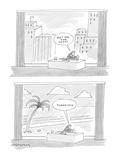 Get me the coast. . . .Thank you.' - Cartoon Premium Giclee Print by Mick Stevens