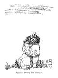"""""""Please! Destroy him utterly!"""" - New Yorker Cartoon Premium Giclee Print by William Steig"""