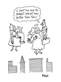 I don't see how the market can get any better than this!' - Cartoon Premium Giclee Print by Peter Mueller