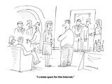 """I create spam for the internet."" - Cartoon Premium Giclee Print by Mick Stevens"