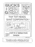 Tabloid Finance - Cartoon Premium Giclee Print by Robert Mankoff