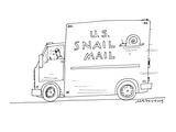 U.S. Snail Mail - Cartoon Premium Giclee Print by Mick Stevens