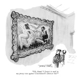 """Oh, damn!  I forgot to mail in my proxy vote against Consolidated's takeo…"" - New Yorker Cartoon Premium Giclee Print by Donald Reilly"