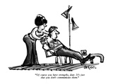 """Of course you have strengths, dear. It's just that you don't communicate …"" - New Yorker Cartoon Premium Giclee Print by Lee Lorenz"