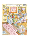 The Family That Sold Out - Cartoon Premium Giclee Print by Roz Chast