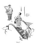 """Henry!"" - New Yorker Cartoon Premium Giclee Print by Richard Decker"