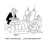 """You're one lucky guy . . . you've got a great case!"" - Cartoon Premium Giclee Print by Bob Zahn"