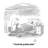 """I must be pretty bad."" - Cartoon Premium Giclee Print by Frank Cotham"