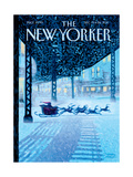 The New Yorker Cover - December 19, 2011 Regular Giclee Print by Eric Drooker