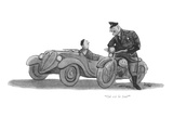 """Où est le feu?"" - New Yorker Cartoon Premium Giclee Print by Eldon Dedini"