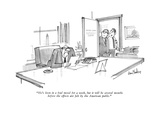 """""""He's been in a foul mood for a week, but it will be several months before…"""" - New Yorker Cartoon Premium Giclee Print by Dana Fradon"""