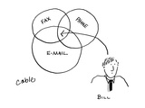 Bill - Cartoon Premium Giclee Print by Carole Cable