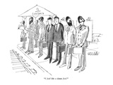 """I feel like a damn fool."" - New Yorker Cartoon Premium Giclee Print by Mischa Richter"