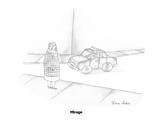 Mirage - Cartoon Premium Giclee Print by Victoria Roberts