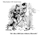 """He's like a Bill Gates without a Microsoft."" - Cartoon Premium Giclee Print by William Hamilton"