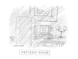 Netizen Kane - Cartoon Premium Giclee Print by Mick Stevens