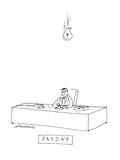 Payday' - Cartoon Premium Giclee Print by Mick Stevens
