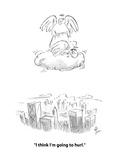 """I think I'm going to hurl."" - Cartoon Premium Giclee Print by Frank Cotham"