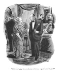 """But what ever possessed you to become a gastroenterologist?"" - New Yorker Cartoon Premium Giclee Print by Eldon Dedini"