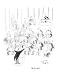 """Who, me?"" - New Yorker Cartoon Premium Giclee Print by Arnie Levin"