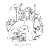"""Thank you, Paine Webber."" - New Yorker Cartoon Premium Giclee Print by George Price"