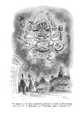 """It appears to be Siva, manifesting himself as Lord of Destruction, but wh…"" - New Yorker Cartoon Premium Giclee Print by Lee Lorenz"