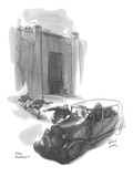 """The Waldorf!"" - New Yorker Cartoon Premium Giclee Print by Richard Decker"