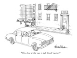 &quot;Otis, shout at that man to pull himself together.&quot; - New Yorker Cartoon Premium Giclee Print by J.B. Handelsman