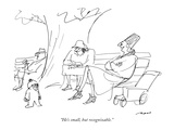 """He's small, but recognizable."" - New Yorker Cartoon Premium Giclee Print by Al Ross"