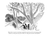 """And when it comes to naming a committee to preserve the scenic beauty of …"" - New Yorker Cartoon Premium Giclee Print by James Stevenson"