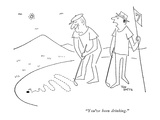 """You've been drinking."" - New Yorker Cartoon Premium Giclee Print by Ton Smits"